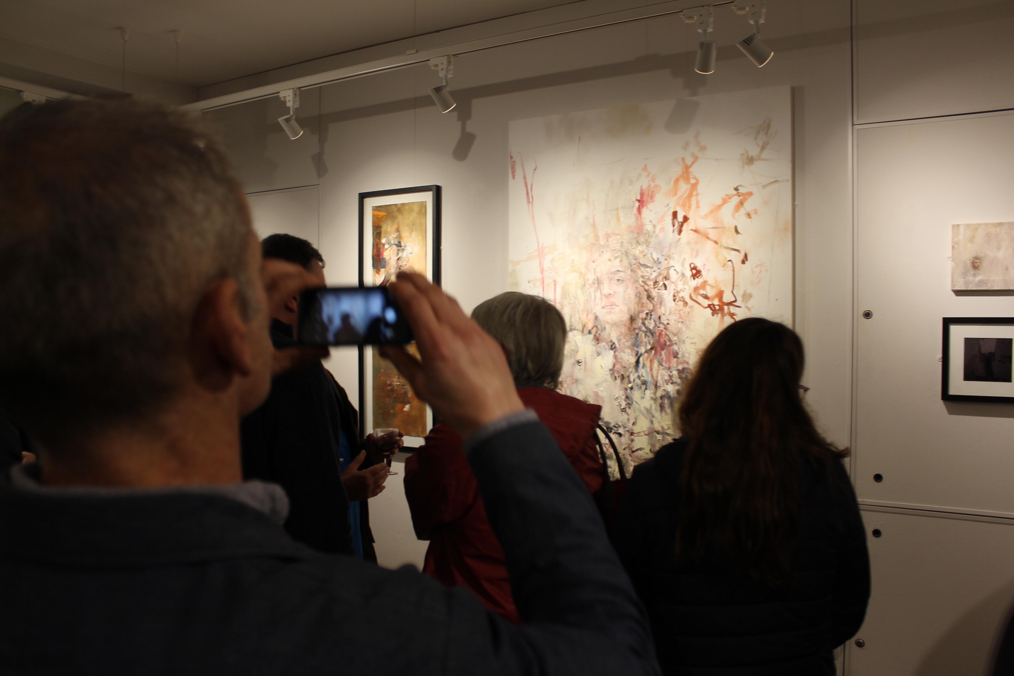 Tomos Sparnon and Owain Sparnon art exhibition